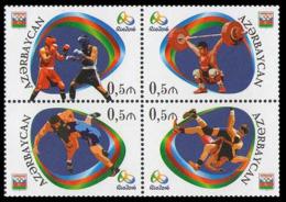 2016Azerbaijan 1166-692016 Olympic Games In Rio De Janeiro - Sommer 2016: Rio De Janeiro