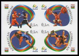 2016Azerbaijan 1166-69b2016 Olympic Games In Rio De Janeiro  (edition 200) - Sommer 2016: Rio De Janeiro