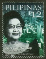 Filippine Philippines Philippinen Pilipinas 2018 Lucrecia R. Kasilag, National Artist For Music Set - MNH** (see Photo) - Filipinas