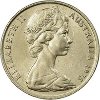 Monnaie, Australie, Elizabeth II, 20 Cents, 1975, Melbourne, TTB, Copper-nickel - Victoria