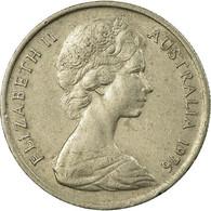 Monnaie, Australie, Elizabeth II, 5 Cents, 1976, Melbourne, TB+, Copper-nickel - Victoria