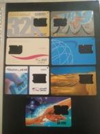 Qatar Telephone Card Old 7 Different - Qatar