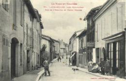 Le Tarn Et Garonne LAFRANCAISE  Près Montauban Rue De L'Hopital Et Hotel Roques Labouche RV - Lafrancaise