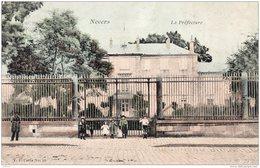 NEVERS LA PREFECTURE 1908 TBE - Nevers