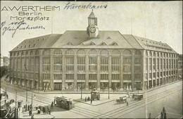 Ansichtskarte Kreuzberg-Berlin Wertheim Moritzstraße 1918 - Kreuzberg