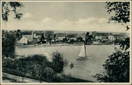 Postcard Rhein, Kreis Lötzen Ryn Blick Auf Die Stadt 1941 - Ostpreussen