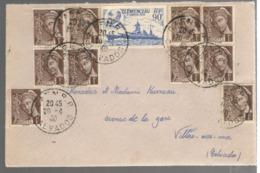 23415 - MERCURE 1 C X 9 Exemplaires - 1921-1960: Periodo Moderno