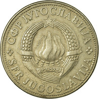 Monnaie, Yougoslavie, 10 Dinara, 1981, TB+, Copper-nickel, KM:62 - Joegoslavië
