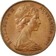 Monnaie, Australie, Elizabeth II, 2 Cents, 1977, Melbourne, TB+, Bronze, KM:63 - Victoria
