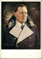 Militär/Propaganda - 2.WK (Zweiter Weltkrieg) Künstlerkarte Exner Hermann Göring 1940 - War 1939-45