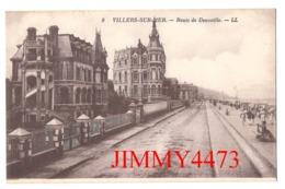 CPA - VILLERS-sur-MER 14 Calvados - Route De Deauville - N° 9 - L L - Edit. Lévy Et Neurdein Paris - Villers Sur Mer
