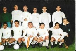 Photo Equipe De Football Du Réal Madrid Avec Kopa, Di Stefano... 1957 1958 Ou 1959? Copa De Europa (Coupe D'Europe) - Calcio