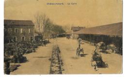13 CHATEAURENARD LA GARE CPA  2 SCANS - Chateaurenard