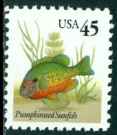 UNITED STATES OF AMERICA 1992 SUNFISH DEFINITIVE** (MNH) - Nuovi