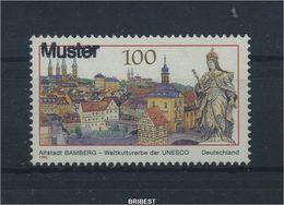 BUND 1996 Nr 1881 ** Mit MUSTER Handstempel (90119) - Zonder Classificatie