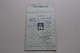 SPAARBOEKJE - Livret D'Epargne A.S.L.K. ( BERCHEM (Antw.) Mels Maria ) Anno 1968-77 ( Zie / See / Voir Photo ) ! - Banque & Assurance