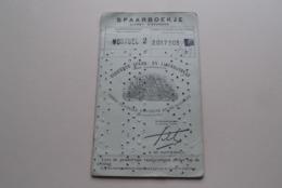 SPAARBOEKJE - Livret D'Epargne A.S.L.K. ( MORTSEL (Antw.) Meyers Paul ) Anno 1951-59 ( Zie / See / Voir Photo ) ! - Banque & Assurance