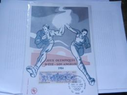 JEUX OLYMPIQUES LOS ANGELES 1984 1 ER JOUR PARIS - Olympics