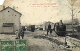 CAUSSADE  Gare Des Tramways RV - Caussade