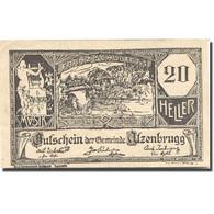 Billet, Autriche, Atzenbrugg, 20 Heller, Village 1920-10-15, SPL Mehl:FS 63IIaA - Autriche