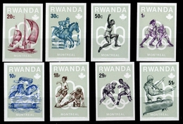 1976, Ruanda, 799-06 B, ** - Ruanda