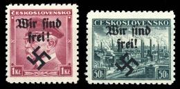 1938, Sudetenland Rumburg, 9+51, ** - Sudetenland