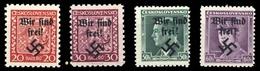 1938, Sudetenland Rumburg, 3,5,7-8, ** - Sudetenland