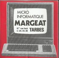 Autocollant - Micro Informatique Margeat - Tarbes - Stickers