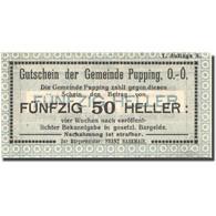 Billet, Autriche, Pupping, 50 Heller, Valeur Faciale, SPL, Mehl:FS 792IB - Autriche