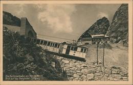 Brannenburg Wendelstein Wendelsteinhaus Zahnradbahn Berghotel 1925 - Allemagne