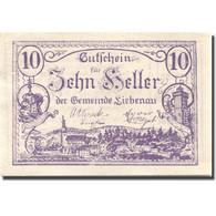 Billet, Autriche, Liebenau, 10 Heller, Village 1921-05-01, SPL, Mehl:FS 521 - Autriche