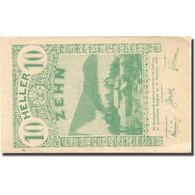 Billet, Autriche, Lilienfeld, 10 Heller, Paysage 1920-12-31, SPL Mehl:FS 523Ia - Autriche