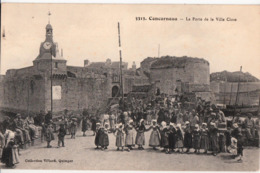 CONCARNEAU-LA PORTE DE LA VILLE CLOSE - Concarneau