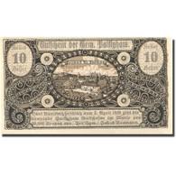 Billet, Autriche, Sonderausgabe, 10 Heller, Village, 1920 SPL Mehl:FS 893 - Austria