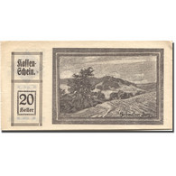 Billet, Autriche, Schmolln, 20 Heller, Paysage 1920-10-31, SUP Mehl:FS 587IIa - Austria