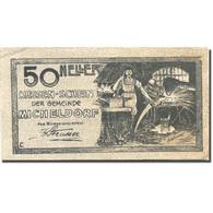 Billet, Autriche, Micheldorf, 50 Heller, Usine, 1920-12-31, SPL, Mehl:FS 612b - Autriche
