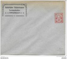 "88 - 20 - Entier Postal Privé Neuf ""Gebrüder Ackermann Entlebuch"" - Enteros Postales"