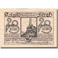 Billet, Autriche, Strass, 20 Heller, Blason 1920-05-12, TTB, Mehl:FS 1047a - Austria