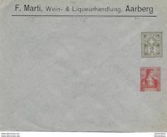 "162 - 95 - Entier Postal Privé Neuf ""F. Marti Aarberg"" - Entiers Postaux"