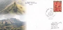 India  2019  Totana Fort  Pune  Special Cover  # 23398   C&D   D Inde  Indien - Schlösser U. Burgen
