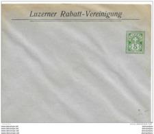 "88 - 24 - Entier Postal Privé Neuf ""Luzerner Kantonalbank"" 5 Cts - Enteros Postales"