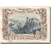 Billet, Autriche, Dichtenstein, 50 Heller, Château, SPL, Mehl:FS 127d - Autriche