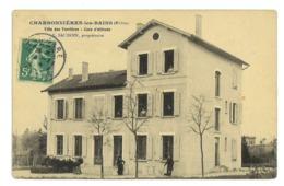 CPA 69 CHARBONNIERE-LES-BAINS VILLA DES VERRIERES - Charbonniere Les Bains
