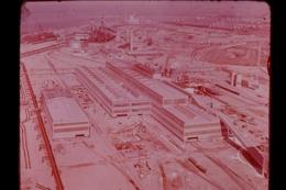 Photo Diapo Diapositive Slide FRANCE Aérienne Industrie Sidérurgique à 59 DUNKERQUE VOIR ZOOM - Dias
