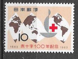 Japon   N°  738  Croix Rouge   Neuf * *  = MNH  VF       Soldé ! ! !        Le Moins Cher Du Site ! ! ! - Dolls