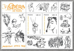 France 2019 - Yv N° F5353 ** - Opéra National De Paris 350 Ans (timbres 5353 & 5354) - France