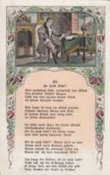 AK - Kunstkarte - Liebesgedicht - 1942 - Philosophie