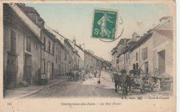 39--CLAIRVAUX LES LACS--LA RUE NEUVE--VOIR SCANNER - Clairvaux Les Lacs