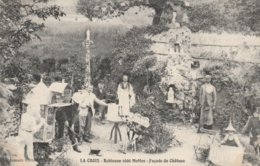 37--LA CROIX--ROBINSON 1000 MOTTES--FACADE DU CHATEAU--VOR SCANNER - France