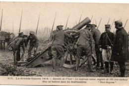 Bataille De L'Yser 1914 - Le Nouveau Canon Anglais Dans Les Houblonnières - Phot'express 312 - Guerre 1914-18